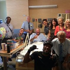 While vacationing in Hawaii the person in the hospital bed was hospitalized. The local brothers and sisters came by in droves to check up on him. The hospital staff thought he was a celebrity. He plans on getting baptized at the...
