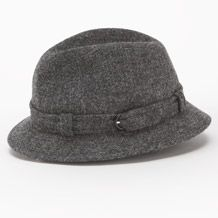 I'm feeling tweed hats at the moment.