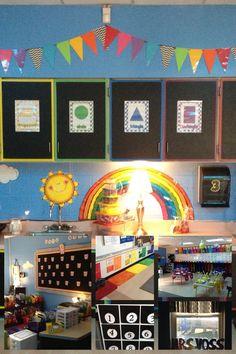 My sky themed classroom 2013-14
