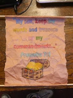Hands On Bible Teacher: Solomon Shares His Wisdom Through The Proverbs