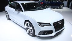 Audi set to launch RS7 Sportback in India today.  Powered by twin-turbocharged 4.0l V8 TFSI engine, generating 560 PS and 700 Nm torque, RS7 does 0-100 kmph in just 3.7 seconds. Top speed is 250 kmph #MostPowerfulAudi #India