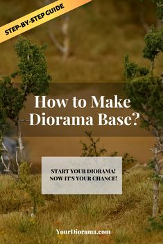 How to Make a Diorama Base? [Step-by-Step Tutorial] Dinosaur Diorama, Dirt Texture, Making Water, Foam Shapes, Girls Dollhouse, Twitter Image, Military Modelling, Military Diorama, Book Nooks