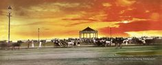"""The Luneta at sunset, Manila, Philippines, late 19th or early 20th Century"" University of Michigan Library Special Collections @ John Tewell Colorized by E.S.S."