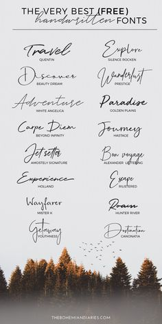 fonts for tattoos ~ fonts _ fonts alphabet _ fonts handwriting _ fonts handwritten _ fonts alphabet handwritten _ fonts design _ fonts for tattoos _ fonts alphabet simple Best Free Handwritten Fonts, Free Cursive Fonts, Best Free Fonts, Best Script Fonts, Free Handwritten Script Fonts, Font Free, Free Fonts Download, Free Cricut Fonts, Elegant Cursive Fonts