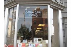 Second Story Books--one of our favorite independent bookstores in DC