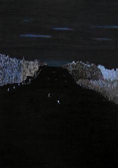 We are gone - Ski Slope 5 | Karolina Swidecka; Painting