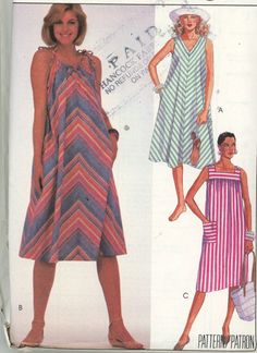 Misses Sundress Pattern Multistyle McCall's 9618 Size 20-22-24  Easy and Comfortable - UNCUT Free USA Shipping