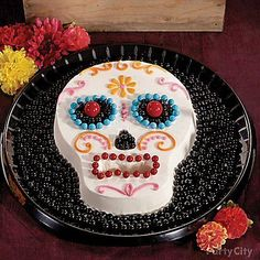 Fright and delight your guests with this ghoulishly good and colorful cake! Click for our how-to!