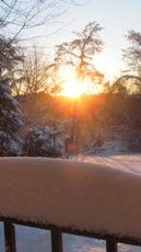 Sunrise after the Snow