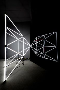Light sculptures by Jason Peters. | #lighting #polygonal #sculptural