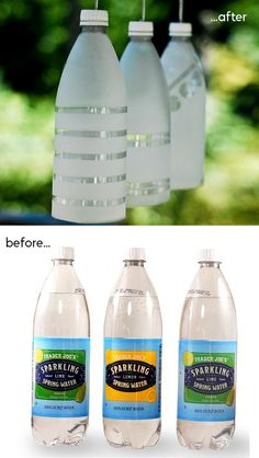 Party Lights Made From Recycled Plastic Bottles | Click Pic for 24 DIY Garden Lighting Ideas | DIY Outdoor Lighting Ideas