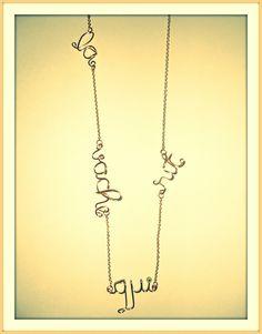 Golden handmade necklace Handmade Necklaces, Arrow Necklace, Jewelry, Jewlery, Jewerly, Schmuck, Jewels, Jewelery, Fine Jewelry