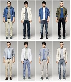 Mens Clothing | Fashionable Clothes for Men: the Essential Summer Outfit - fashionsup ...