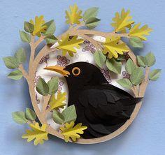 Paper Cut Artwork by Helen Musselwhite