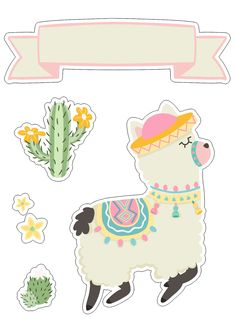 New Fitness Planner Printable Templates Ideas Alpacas, Printable Planner, Party Printables, Planner Stickers, Printable Templates, First Birthday Gifts, 18th Birthday Party, Llama Birthday, Baby Birthday
