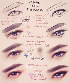 Amazing Learn To Draw Eyes Ideas. Astounding Learn To Draw Eyes Ideas. Digital Painting Tutorials, Digital Art Tutorial, Art Tutorials, Drawing Tutorials, Drawing Techniques, Drawing Tips, Drawing Sketches, Pencil Sketching, Drawing Faces