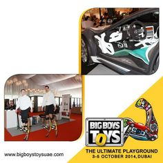 Big Boys Toys 2014, the Ultimate Playground with unlimited access to Super cars & Gadgets alike beckons you! So mark the dates and get ready for fun at a whole new level this October!
