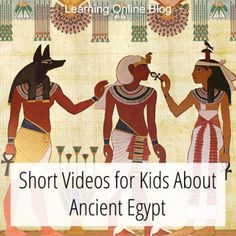 Your kids can learn about the daily life, pharaohs, religion, and pyramids of ancient Egypt from these short videos. Ancient Egypt Lessons, Ancient Egypt Activities, Ancient Egypt Crafts, Ancient Egypt For Kids, Ancient Egypt Pharaohs, Ancient History, Ancient Aliens, Ancient Civilizations, Ancient Greece