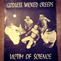 #Vintage #Godlesswickedcreeps #Poster #Psychobilly #Rockabilly