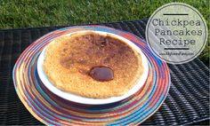 Chickpea Pancakes Recipe aka Garbanzo Bean Flatbread Recipe ...