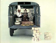 Pâtissier Citroën 2CV
