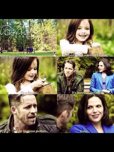 Awesome Regina and Robin (Lana and Sean) and possibly their adorable little girl Once S4