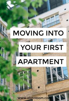 How to choose your first apartment, prepare for moving into your first apartment and move into your first apartment- or your second, third or fourth. ENTER TO WIN the O-Cedar Microfiber Steam Mop.
