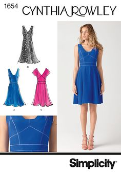 This one - Simplicity Creative Group - Misses' Dress Cynthia Rowley Collection - Chambray?