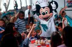 Chef Mickey's at The Contemporary Resort, Disney World, FL