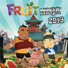 Fruit Ninja Wall Calendar: Do you like slicing fruit? Are you a Fruit Ninja? Then you'll love this 2013 calendar featuring screenshots from the ultra-popular and addictive Fruit Ninja video game.  http://www.calendars.com/Entertainment-Calendar-Ink/Fruit-Ninja-2013-Wall-Calendar/prod201300002764/?categoryId=cat1060010=cat1060010