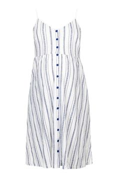Love this blue striped dress for the Mama Bear of your future Cubs fan!