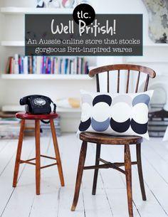 British Homewares - SE10 Gallery - Vintage Phone and Chair