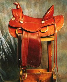 Custom made authentic old timey western leather saddles built to customer specs in Pine, Colorado. Lightweight custom saddles for mounted shooting. Johnny Ringo, Cowboy Gear, Leather Carving, Horse Stuff, Horse Tack, Saddles, Forks, Westerns, Classic