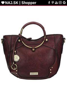 Kabelka do ruky Červená ORTHENSE RED-005 Shopper Bag, Tote Bag, David Jones, Longchamp, Zara, Fashion, Moda, Fashion Styles, Totes