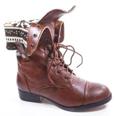 Military Combat Boot Foldable