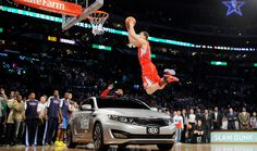 Blake Griffin reveals NBA forced him to jump over a Kia Optima - https://movietvtechgeeks.com/blake-griffin-reveals-nba-forced-jump-kia-optima/-You remember when Blake Griffin jumped over the car in the 2011 Sprite Slam Dunk contest? Well, it turns out the NBA had a hand in making that happen.