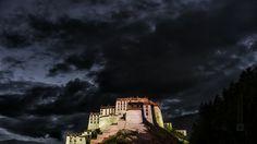 https://flic.kr/p/JQGwkf | Tibet, the Potala palace at dusk (Lhasa, China), 06-2016, 10 (Vlad Meytin, vladsm.com)