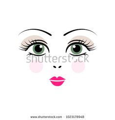 doll, face, vector, girl, cartoon, eyes, female, woman, cute, illustration, design, eye, white, anime, black, isolated, russian, toy, set, beautiful, child, background, red, people, art, traditional, template, culture, beauty, pretty, character, little, girlish, person, smile, graphic, style, folk, polish, poland, russia, nose, lips, lip, brow, eyebrow, eyelash, makeup, make, up