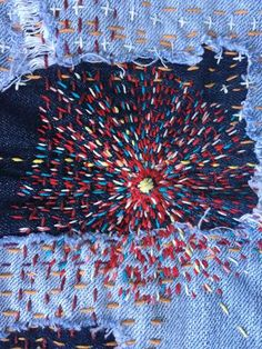 Japanese Embroidery Kimono Embroidery Designs For Brother Embroidery Stitches Advanced! Sashiko Embroidery, Japanese Embroidery, Hand Embroidery Stitches, Embroidery Thread, Machine Embroidery, Embroidery Designs, Embroidery Techniques, Embroidery Tattoo, Simple Embroidery