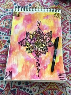 Mandala + Loto ❤️ Cursed Child Book, Fabric Painting, Fabric Crafts, Harry Potter, Printing, Cover, Art, Mandalas, Painting On Fabric