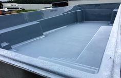 "Introducing one of Leisure Pools' newest composite fiberglass swimming pools, ""The Supreme."" If you like to swim, you'll love this pool due to its open swim lane in the middle of the pool. It's 15'6"" wide and available in three lengths (shown here is the 40' long version in Silver Grey. Also available in 30' or 35'.) Steps on both sides flow into 4 feet of water but you also have a set of deep end steps/ bench seats in the deep end (where it's 6'7"".) Are you ready for a Supreme life of le"