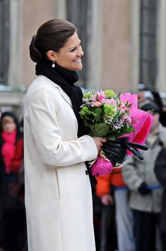 March 12, 2009 Celebrating the name day #Crown Princess Victoria #Sweden