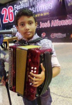 Sergio Luis Moreno Fragoso, Rey Acordeón Infantil. Festival de Patillal.