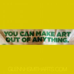 Art is many things