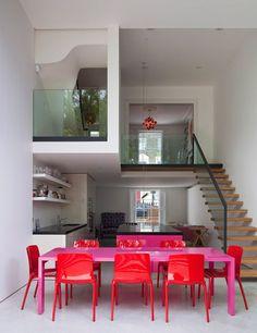 color blocking interior