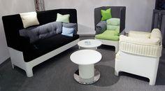 Koja sofa ir fotelis. Dizainas Fredrik Mattson, 2009,2013
