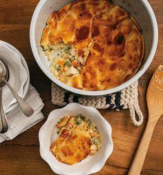 Chicken pot pie recipe ninja ® ninja cooking system, easy pressure cooker r Chicken Pot Pie Pressure Cooker Recipe, Pressure Cooker Recipes, Pressure Cooking, Healthy Chicken Recipes, Cooking Recipes, Pie Recipes, Cooking Hacks, Drink Recipes