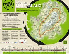Tour du Mont Blanc. 170km, 3 countries, hut to hut backpacking.