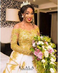 african wedding hairstyles BellaNaija Weddings presents 19 Trends for 2019 Black Brides Hairstyles, African Wedding Hairstyles, Bridal Hairstyles African American, African Wedding Dress, African Dress, Hairdo Wedding, Wedding Attire, Dream Wedding Dresses, Bridal Dresses