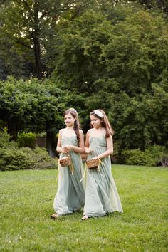 Mia and Allison can be junior bridesmaids... :)
